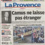 La Provence papier - 13 octobre - page 1